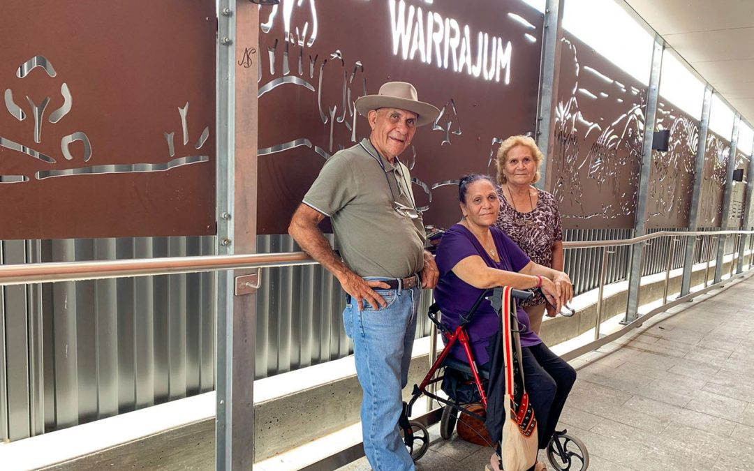 Public art and stories at the centrepiece in the revitalisation of Boonah's town centre