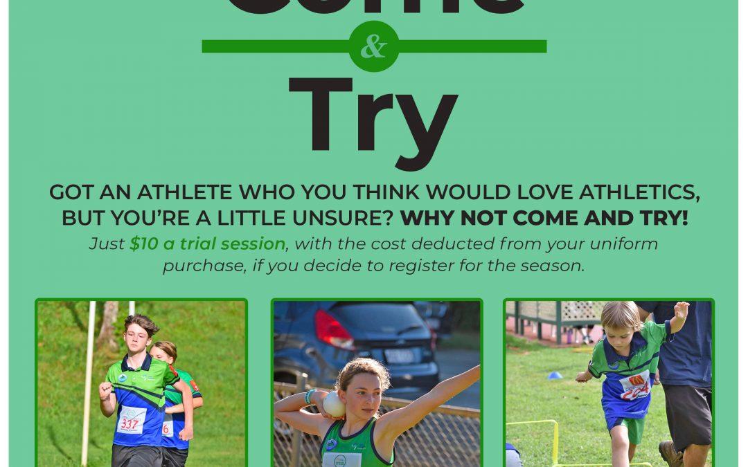 Tamborine Mountain Little Athletics Club – Come & Try